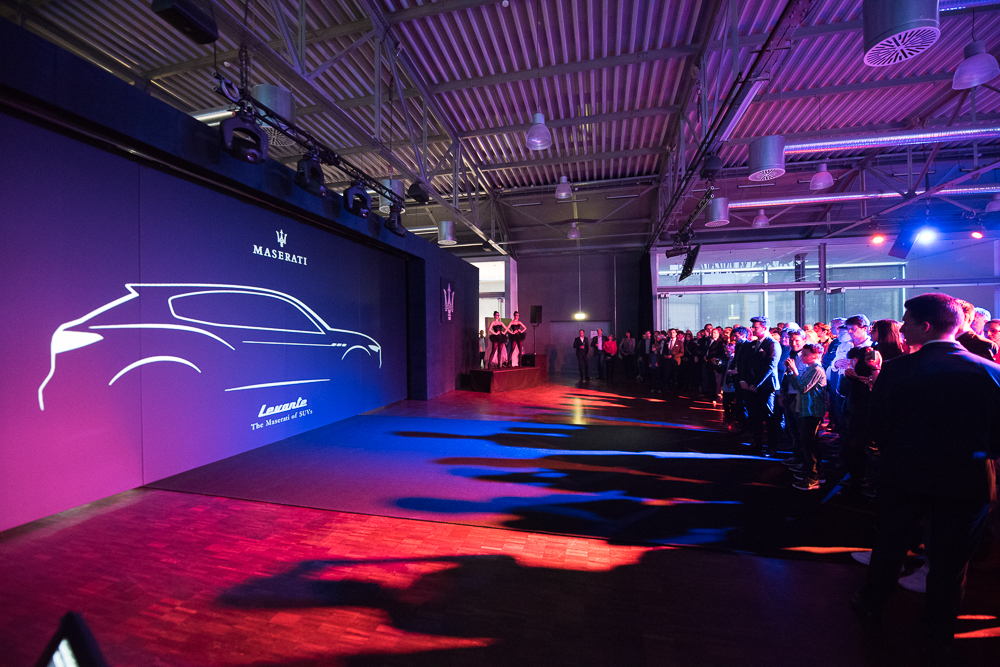 Launch Event Maserati Levante