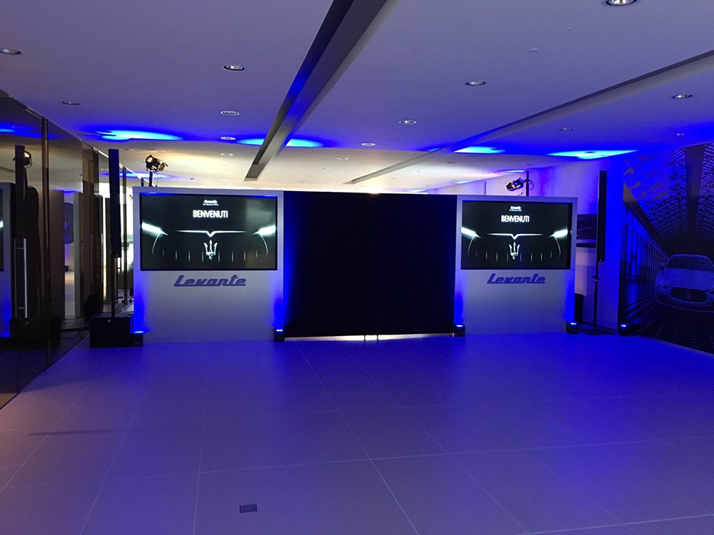Vorstellung Händlerpräsentation Maserati Levante