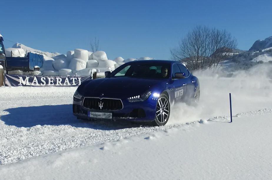 Roadshow auf Eis und Schnee