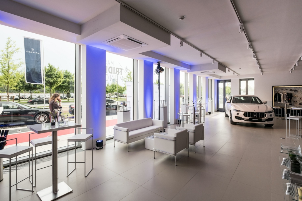 Autohaus Eröffnung